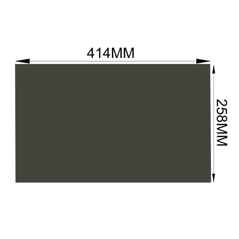 Free Shipping!!!10PCS/Lot Wholesale New 19inch Wide 16:10 45 degree 414MM*258MM LCD Monitor Film Polarized Sheet For Samsung