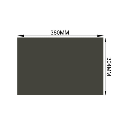 "Free Shipping!!! 10PCS/Lot New 19"" 0 degree 4:3 380MM*304MM LCD Screen Sheets Polarizer LCD Film for LCD LED Screen"