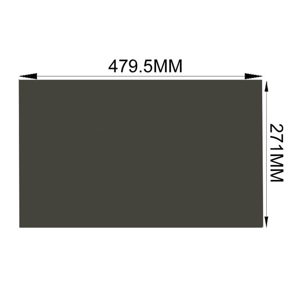 Free Shipping!!!10PCS/Lot Wholesale New 21.5inch 90 degree 479.5MM*271MM LCD Polarizing Film Sheets for tft LCD LED Screen