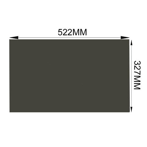 "1PC New 24"" 45 degree 522*327MM LCD Film Polarized Sheet for LCD LED Screen"