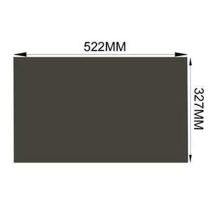 10PCS/Lot New 24inch 90 degree 16:10 522*327MM LCD TV Monitor Polarizer Polarizing Film for LCD LED Screen