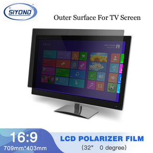 10PCS New 32inch 0 Degree 715MM*403MM Monitor LCD LED Polarizer Polarizing Film Sheets for Samsung/LG TFT LCD LED TV