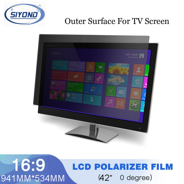 10PCS/Lot New 42inch 0 degree Wholesale LCD Film Polarizer For LCD LED Screen Panel