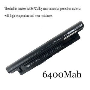 1PC New Laptop Battery Internal For Dell 14R 15R 5537 3437 3537 5421 5437 5521 3521 3421 3441 3442 3443 XCMRD MR90Y