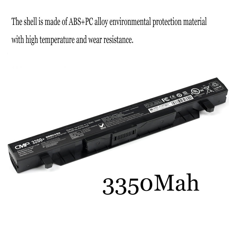 1PC New Laptop Battery Internal For Asus FX-PLUS FX-PRO 6300 6700 FX71PRO