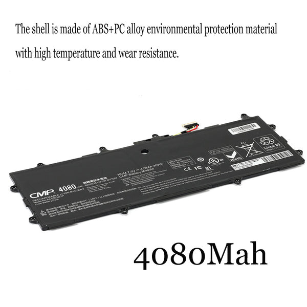 1PC New Laptop Battery Internal For Samsung 905s3g XE500T1C NP910S3G 915s3g K05CN AA-PBZN2TP