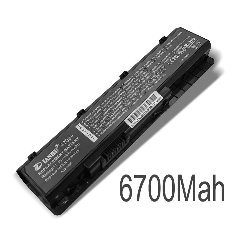 New Laptop Battery Internal For Asus A32-N55 N45S N45J N45F N55S N55V N55SF N55SL N45SL N75S N75E N75SL