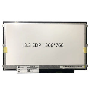 Grade A+ N133BGE-E31 B133XTN02.1 30PIN EDP LED Matrix Display forDell Latitude 3380 3340 3350