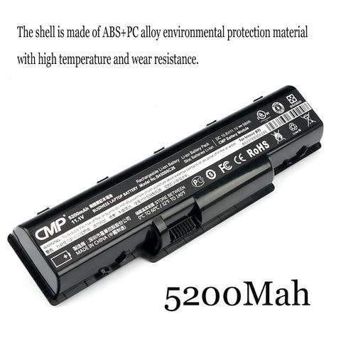 1PC New Laptop Battery Internal For Lenovo IdeaPad B450 B450A B450L L09S6Y21 L09M6Y21