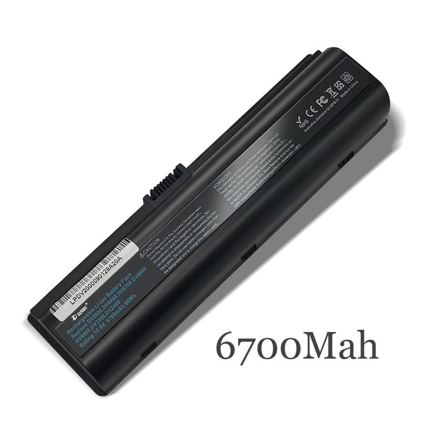 New Replacement Laptop Battery Internal For HP DV2000 V3000 V3500 v3700 HSTNN-LB42/OB42