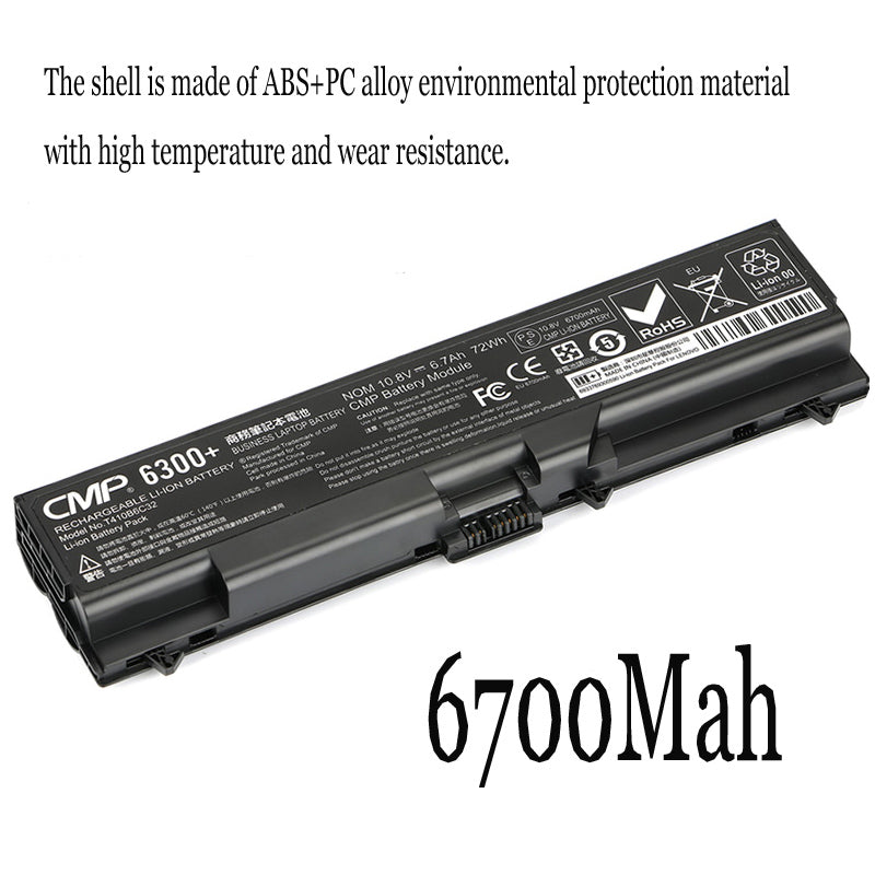 New Replacement Laptop Battery Internal For Lenovo Thinkpad E40 E420 SL410K T410 i T420 E520
