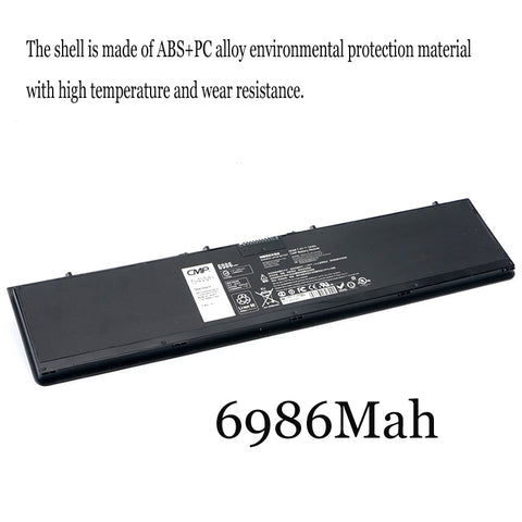 1PC New Laptop Battery Internal For Dell Latitude E7440 E7450 3RNFD