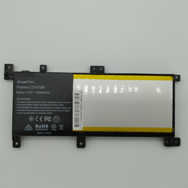 New Laptop Battery Internal For Asus FL5900U C21N1509 A556U X556UV K556U X556U F556U X556UV