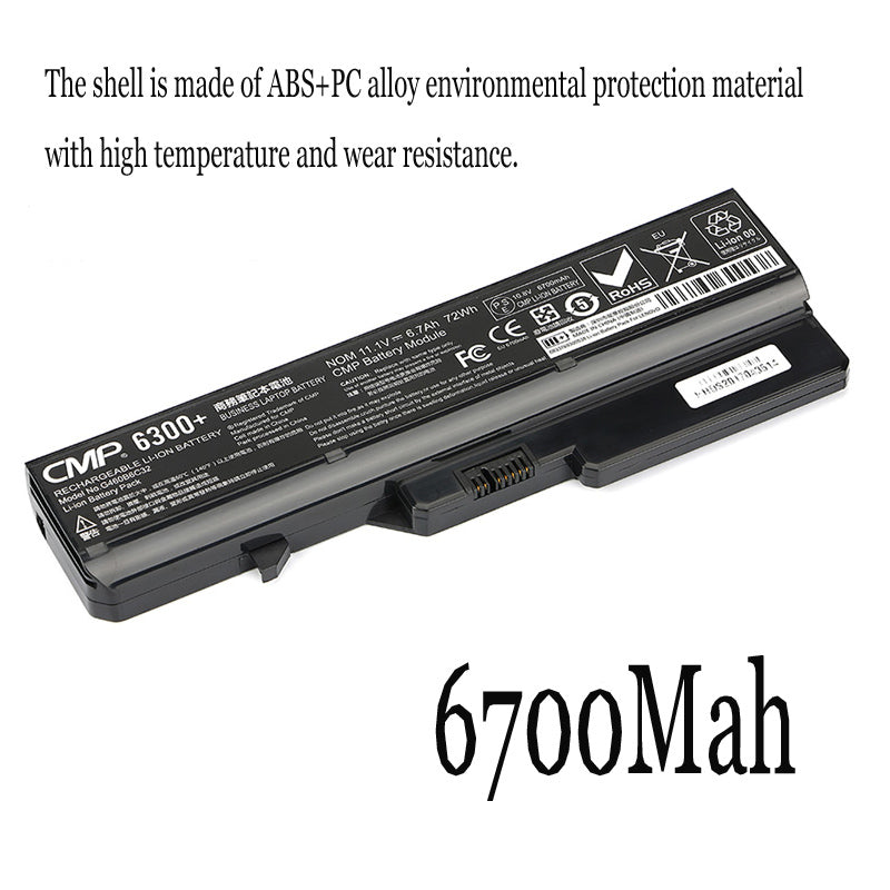 1PC New Laptop Battery Internal For Lenovo G560 G460AY/AX/AL/AP G475AX V470C E47