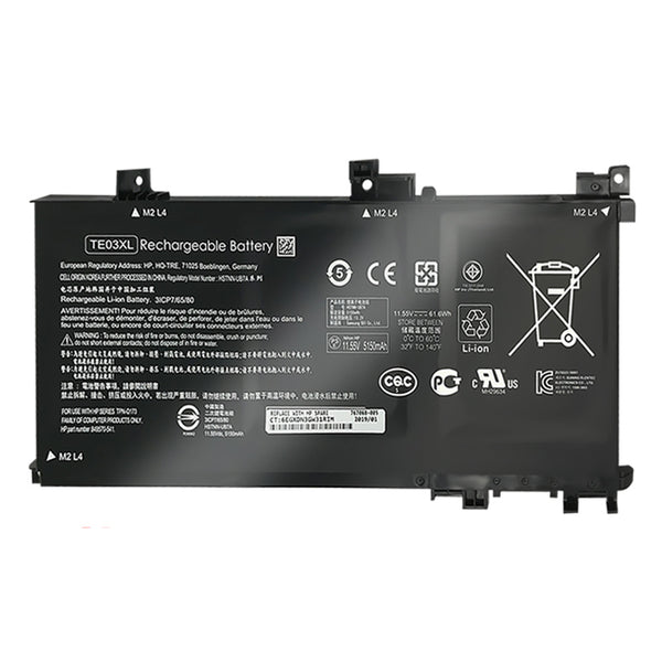 New Laptop Battery Internal For HP HSTNN-UB7A TPN-Q173 TE03XL Jingling 2 Generation