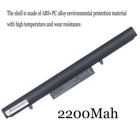 1PC New Laptop Battery Internal For Hasee K610D K570C SQU-1303/1201/1202 UN47 UN45 K480N Q480S A40L-741HD