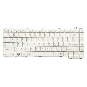 Free Shipping!! 1PC New Laptop Keyboard Stock For Toshiba L700-c08r L700-T27B L600-23W 25R C600-C12N White