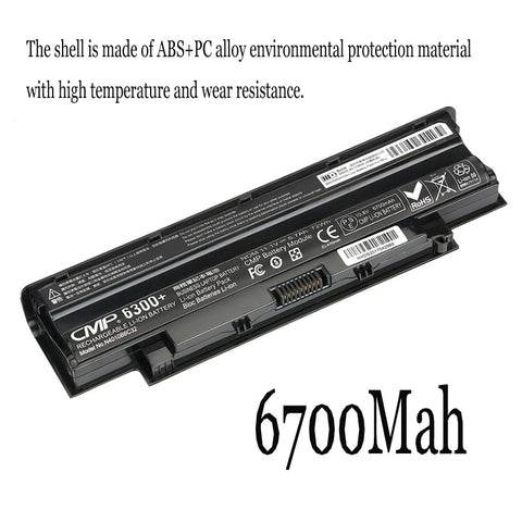 1PC New Laptop Battery Internal For Dell Inspiron 15R M4040 M5110 M4110 N4120