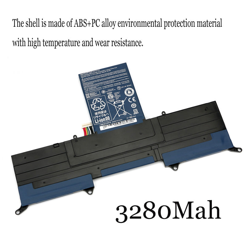 1PC New Laptop Battery Internal For Acer MS2346 AP11D3F AP11D4F S3-391-951