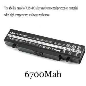 1PC New Laptop Battery Internal For Samsung NP-R425 AA-PB9NC6B RV420 R518 RV415 NP355V4X-S03 355V4C 355V 355V5C 3440VX-S01