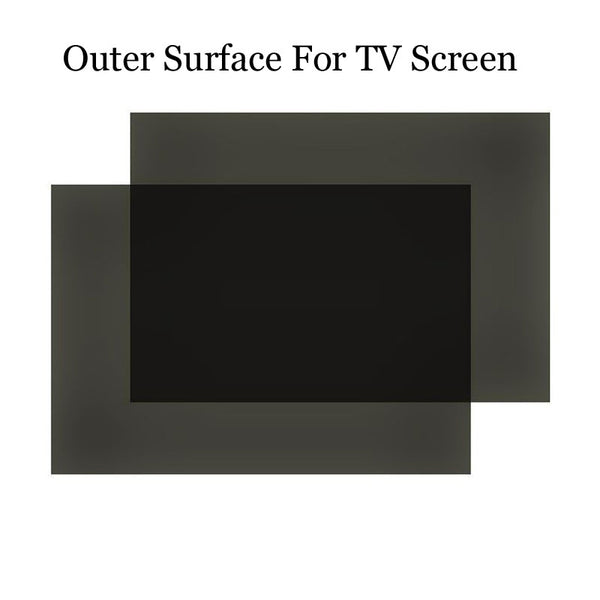50PCS/Lot New 42inch 0 degree LCD Screen Sheets Polarize Film Promotion For TV