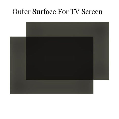 1PC New 55inch 0 degree 1220*695MM LCD Polarizer Film Sheet for LCD LED Screen for TV