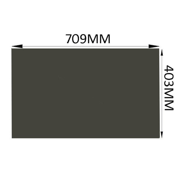 10PCS/Lot New 32inch 45 Degree 709MM*403MM Monitor LCD LED Polarizer Polarizing Film Sheets for Samsung/LG TFT LCD LED TV
