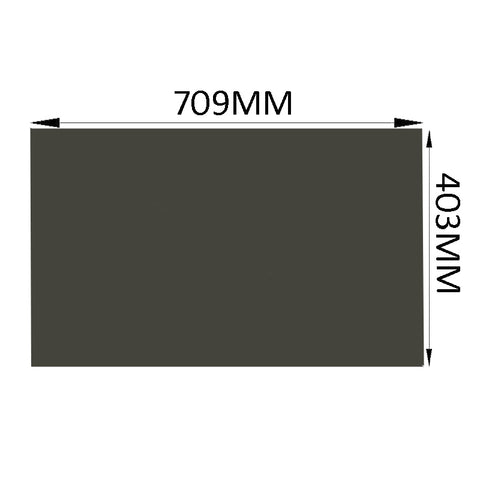 1PC New 32inch 0 degree 16:9 Dark Matte 715MM*410MM LCD Polarizer Film Sheet For TFT Screen