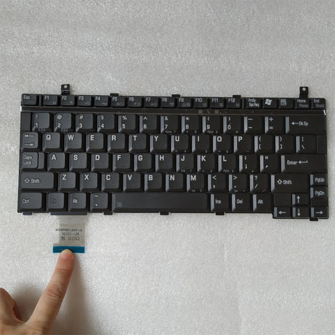 Free Shipping!! 1PC New Laptop Keyboard Stock For Toshiba Portege S100 S105 M200 M400 U200 U205