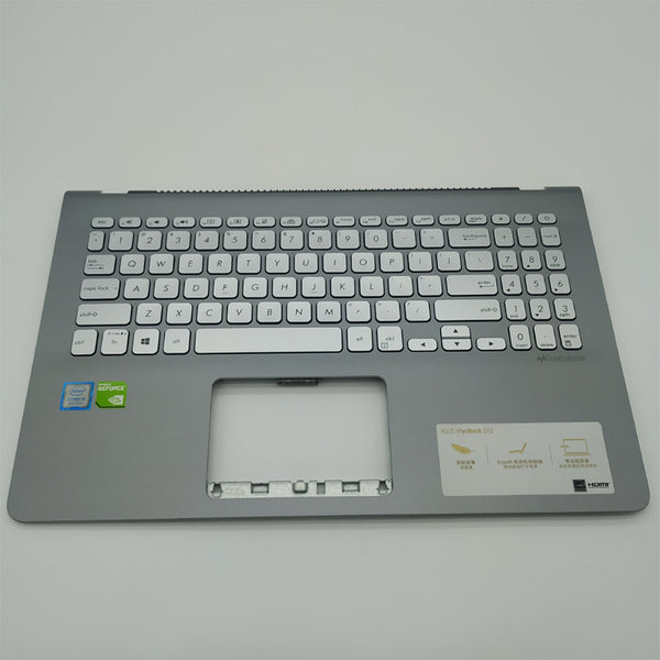 Free Shipping!! 1PC 90%-95%New Laptop Palmrest Housing C With Keyboard For Asus VivoBook S15-S5300U/F S530U