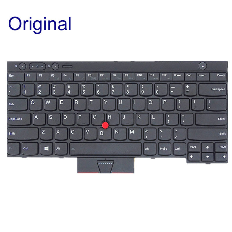 Free Shipping!! 1PC New Laptop Keyboard internal For Lenovo T430 X230 X230T T530 W530 T430S L430 L530 Without Backlight