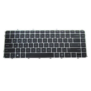 Free Shipping!! 1PC New Laptop Keyboard For HP TPN-C102 C103 ENVY4 ENVY6 4-1220tx 4-1024tx Silver Frame
