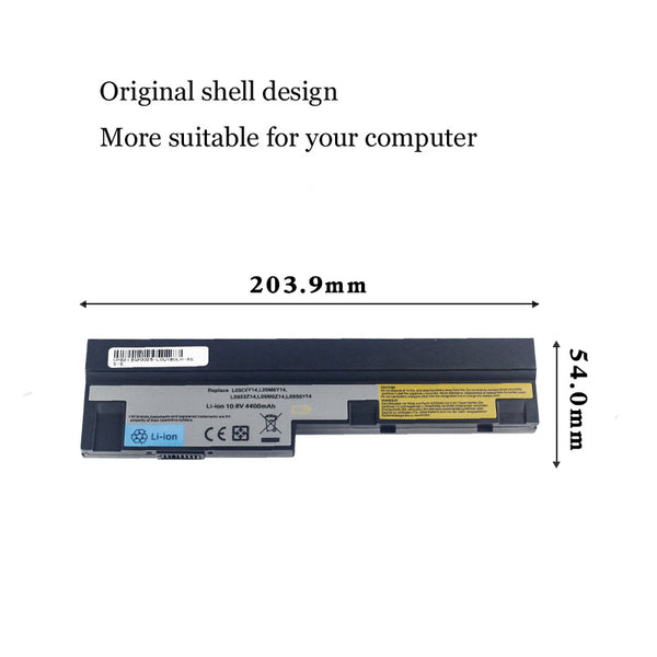 1PC New Laptop Battery Internal For Lenovo U160 S10-3 U165 S100 S110 S205 m13