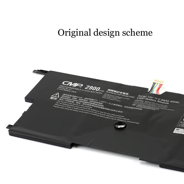1PC New Laptop Battery Internal For Lenovo 45N1702 45N1703 ThinkPad New X1 Carbon Gen3
