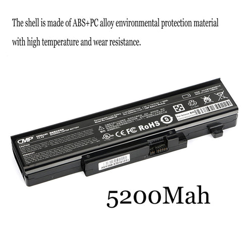 1PC New Laptop Battery Internal For Lenovo Y450 Y450A Y450G Y550 Y550A Y550P L08L6D13