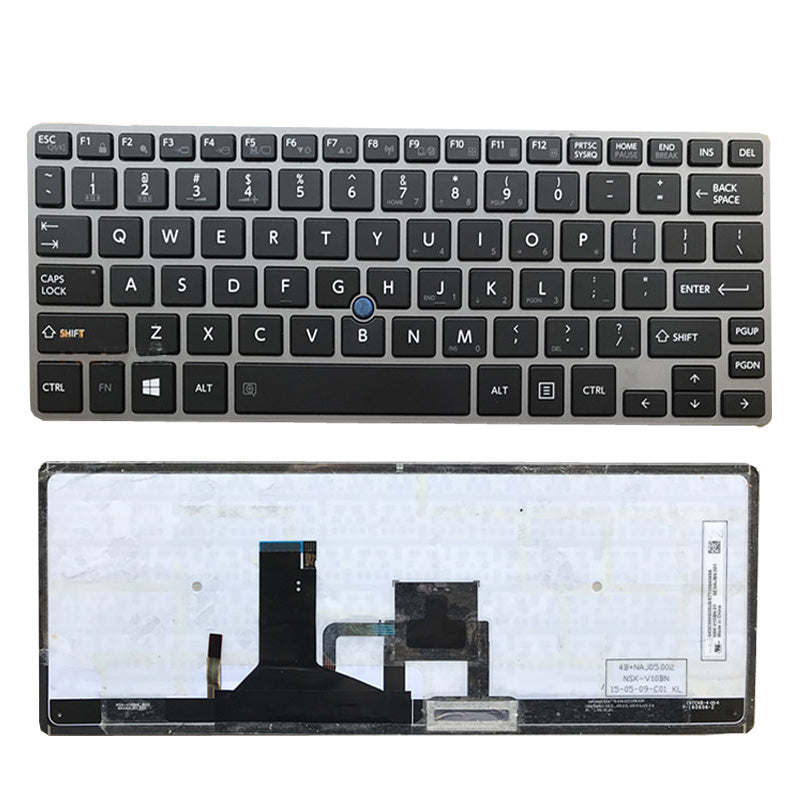 Free Shipping!! 1PC Original Laptop Keyboards For Toshiba Z30-A Z30-C Z30T-B Z30-B1320 Z30-B With Backlight