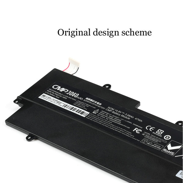 1PC New Laptop Battery Internal For Toshiba Z830-K01S Z835 Z930 Z930-K08S Z935 PA5013U-1BRS