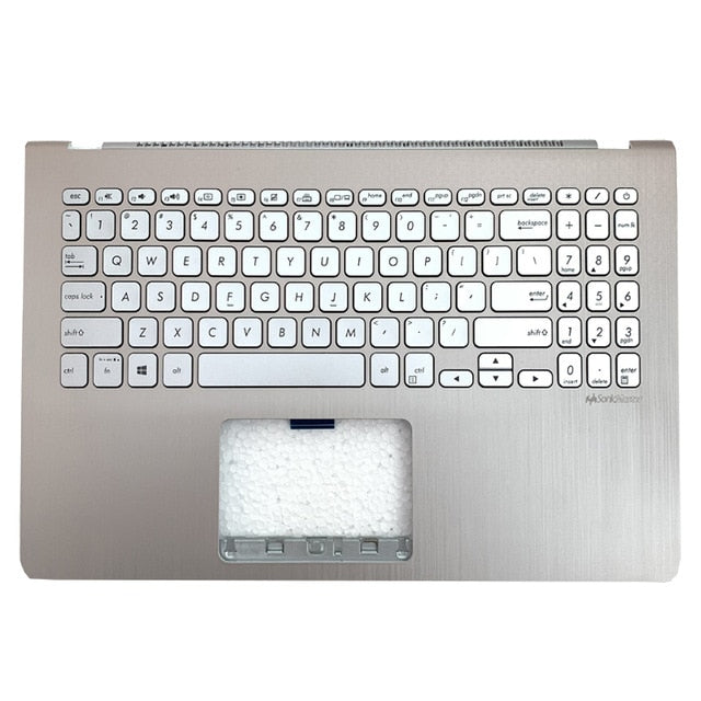 Free Shipping!! 1PC 90%-95%New Laptop Palmrest Housing C With Keyboard For Asus VivoBook S15-S5300U/F S530U Y5100UB