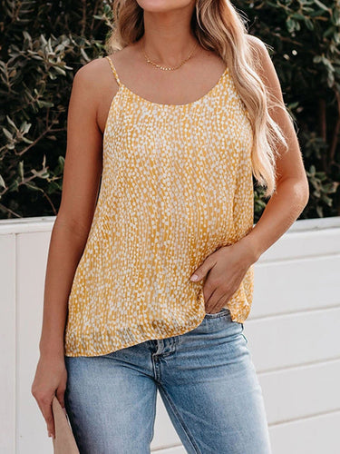 Sleeveless Floral Shirts & Tops