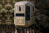 Elevated Hunting Blinds Dual Threat Combo With QP Kit Advantage Hunting Game Keeper