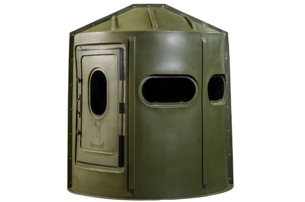 Maverick 5-Shooter GX Deer Blind in Green with Tinted Windows