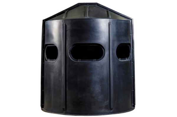 Maverick 5-Shooter GX Deer Blind in Black with Clear Windows