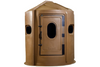 Maverick 5-Shooter GX Deer Blind in Brown with Clear Windows