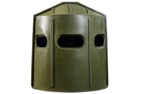 Maverick 5-Shooter GX Deer Blind in Green with Clear Windows