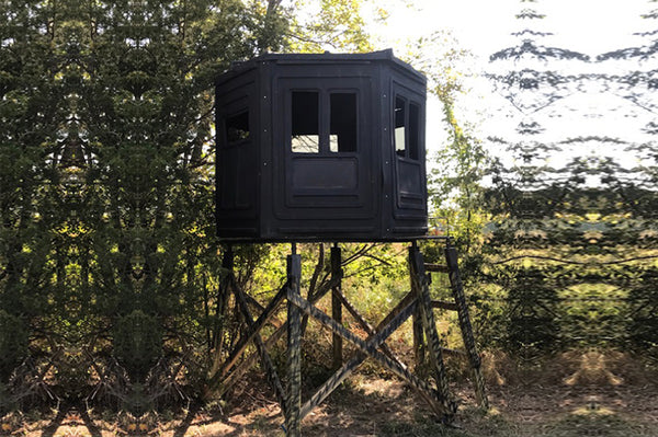 Booner Hunting Blinds with 6-Panel Thunderdome and Tinted Windows