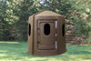Maverick 5-Shooter Deer Blind in Brown with Tinted Windows