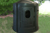 Maverick 5-Shooter Deer Blind in Green with Tinted Windows