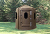 Maverick 6-Shooter Deer Blind in Black with Split Windows