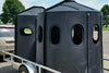 Maverick 6-Shooter Deer Blind in Black with Tinted Windows