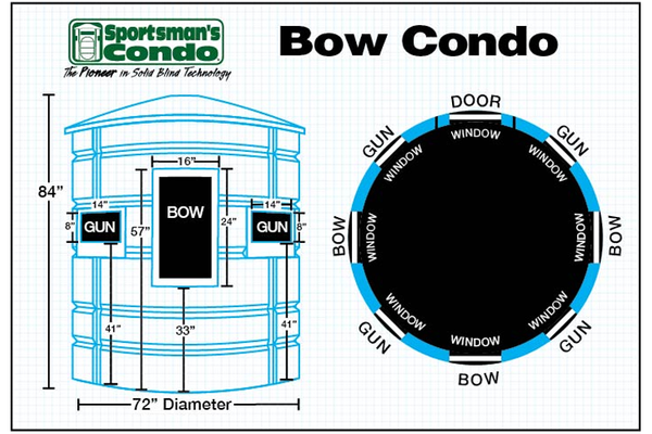 Sportsman's Condo The Bow Southern Outdoor Technologies